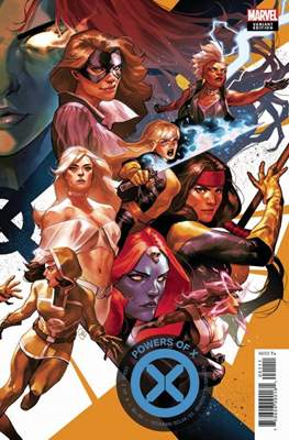 Powers of X (Variant Cover) (Comic Book) #2.1