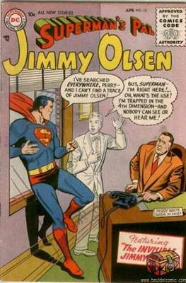 Superman's Pal, Jimmy Olsen / The Superman Family (Comic Book) #12