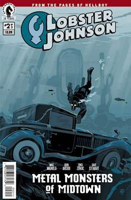 Lobster Johnson (Comic Book) #25