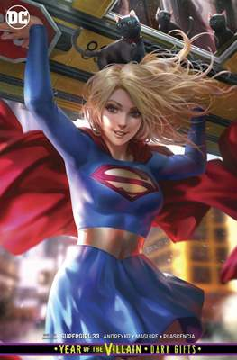 Supergirl Vol. 7 (2016-... Variant Covers) (Comic-book) #33