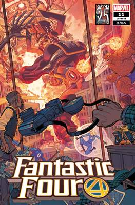 Fantastic Four Vol. 6 (2018- Variant Covers) (Comic Book) #11