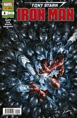 El Invencible Iron Man Vol. 2 (2011-) (Grapa - Rústica) #105/6