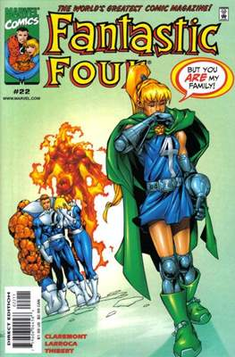 Fantastic Four Vol. 3 (Comic Book) #22