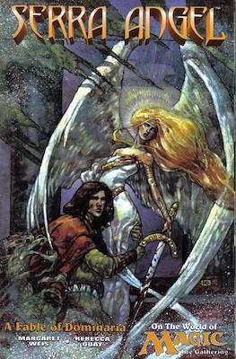 Serra Angel on the World of Magic the Gathering