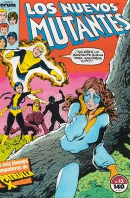 Los Nuevos Mutantes Vol. 1 (1986-1990) (Grapa 32-64 pp) #13