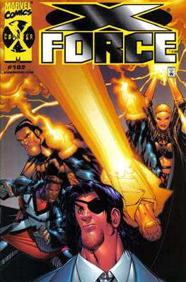 X-Force Vol. 1 (1991-2002 Variant Cover) (Comic Book) #102.1