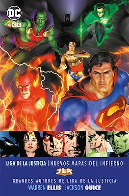 Grandes Autores de Liga de la Justicia: Warren Ellis y Jackson Guice - Nuevos mapas del infierno