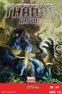 Thanos Rising (Comic Book) #4
