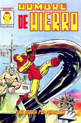 El Hombre de Hierro Vol. 3 (Grapa 24 pp. 1981-1982) #2