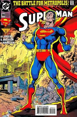 Superman Vol. 2 (1987-2006) (Comic Book) #90