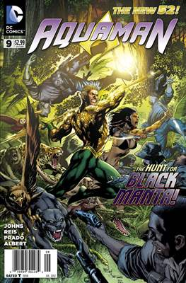Aquaman Vol. 7 (2011-2016) #9