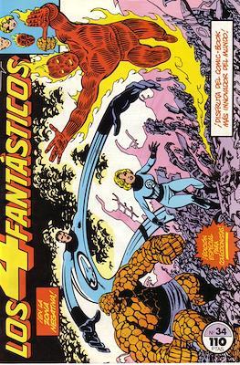 Los 4 Fantásticos Vol. 1 (1983-1994) (Grapa 36-32-24 pp) #34