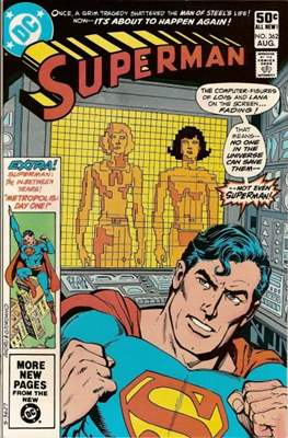 Superman Vol. 1 / Adventures of Superman Vol. 1 (1939-2011) (Comic Book) #362