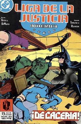 Liga de la Justicia / Liga de la Justicia internacional / Liga de la Justicia de America (1988-1992) (Grapa) #20