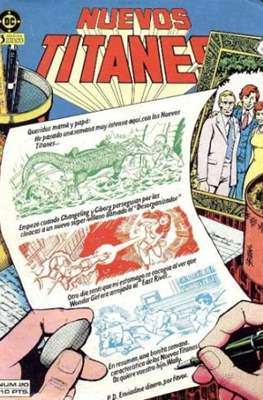 Nuevos Titanes Vol. 1 (1984-1988) (Grapa 40 pp) #20
