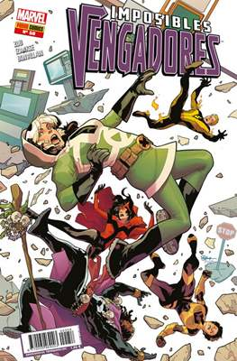 Imposibles Vengadores (2013-2018) (Grapa) #58