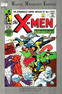 Marvel Milestone Edition X-Men (Comic Book) #1