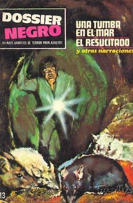 Dossier Negro (Rústica y grapa [1968 - 1988]) #13