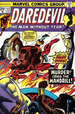 Daredevil Vol. 1 (1964-1998) (Comic Book) #112