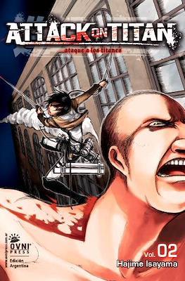 Attack on Titan (Rústica con solapas) #2