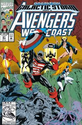 West Coast Avengers Vol. 2 (Comic-book. 1985 -1989) #81