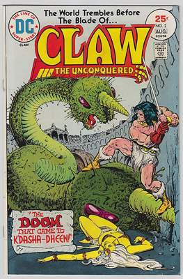 Claw the Unconquered Vol 1 #2