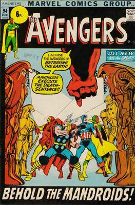 The Avengers Vol. 1 (1963-1996 Variant Cover)