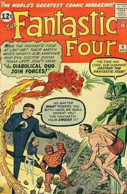 Fantastic Four Vol. 1 (1961-1996) #6