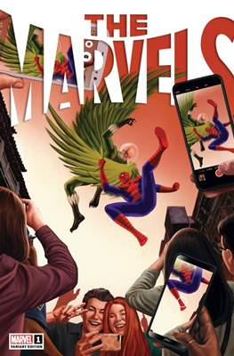 The Marvels (Variant Cover)