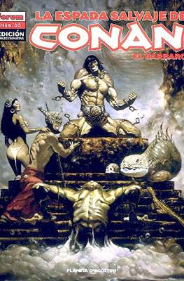 La Espada Salvaje de Conan el Bárbaro. Edición coleccionistas (Rústica. 64 páginas. B/N. (2005-2008).) #65