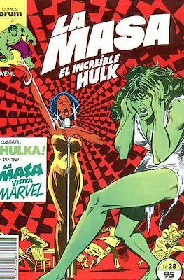 La Masa. El Increíble Hulk (Grapa 36-32 pp) #28