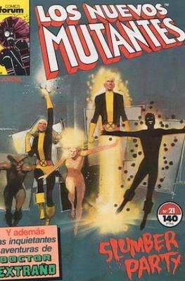 Los Nuevos Mutantes Vol. 1 (1986-1990) (Grapa 32-64 pp) #21