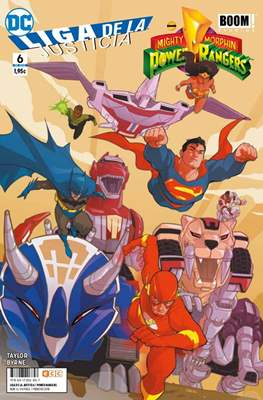Liga de la Justicia / Mighty Morphin Power Rangers #6