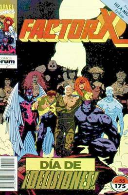 Factor-X Vol. 1 (1988-1995) (Grapa 32 pp) #55