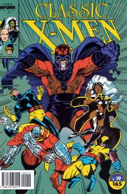 Classic X-Men Vol. 1 (1988-1992) (Grapa 32 pp) #19