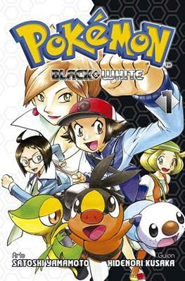 Pokémon Black & White (Rústica) #1