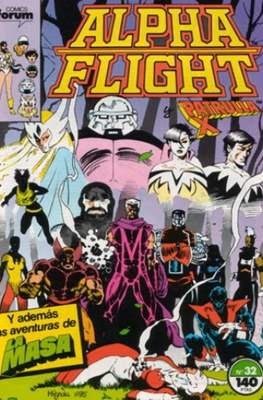 Alpha Flight vol. 1 / Marvel Two-in-one: Alpha Flight & La Masa vol.1 (1985-1992) (Grapa 32-64 pp) #32