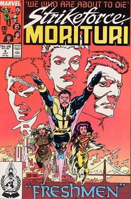 Strikeforce Morituri (Comic-book.) #8