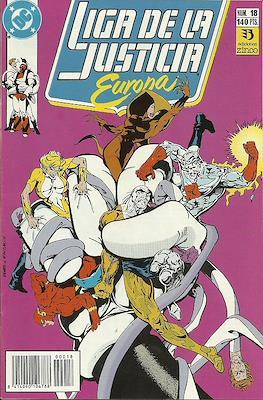 Liga de la Justicia Europa (1989-1992) (Grapa) #18