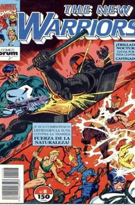 The New Warriors vol. 1 (1991-1995) (Grapa. 17x26. 24 páginas. Color. (1991-1995).) #8
