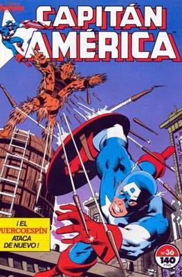 Capitán América vol. 1 / Marvel Two-in-one: Capitán America & Thor vol. 1 (1985-1992) (Grapa 32-64 pp) #36
