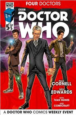 Doctor Who: Four Doctors (Comic Book) #5