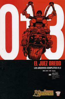El Juez Dredd: Los Archivos Completos #3