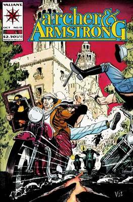 Archer & Armstrong (Comic-book) #15