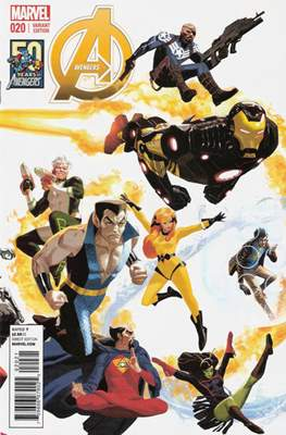 Avengers Vol. 5 (2013-2015 Variant Covers) (Comic Book) #20