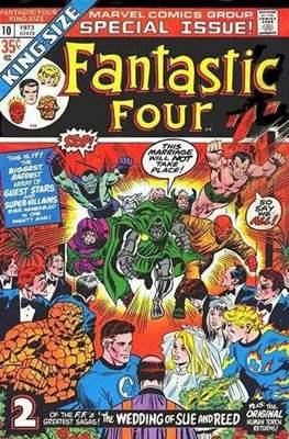 Fantastic Four Annual (Comic Book.) #10