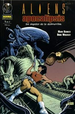 Aliens: Apocalipsis - Los ángeles de la destrucción (Rústica 48 pp) #1