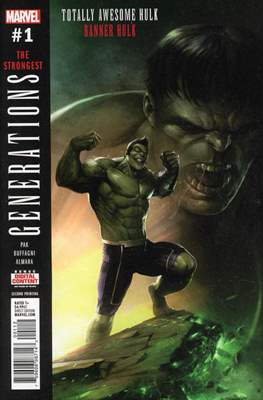 Generations - The Strongest Banner Hulk and Totally Awesome Hulk (Variant Cover) #1.8