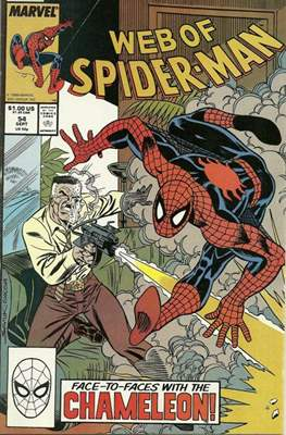 Web of Spider-Man Vol. 1 (1985-1995) (Comic-book) #54