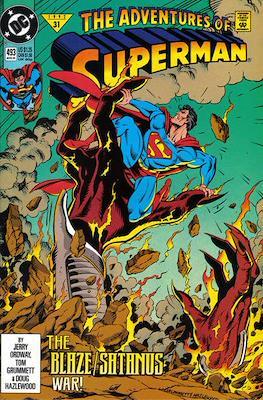 Superman Vol. 1 / Adventures of Superman Vol. 1 (1939-2011) (Comic Book) #493